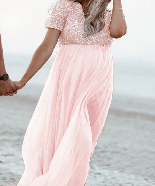 The Eloise Sequin Gown