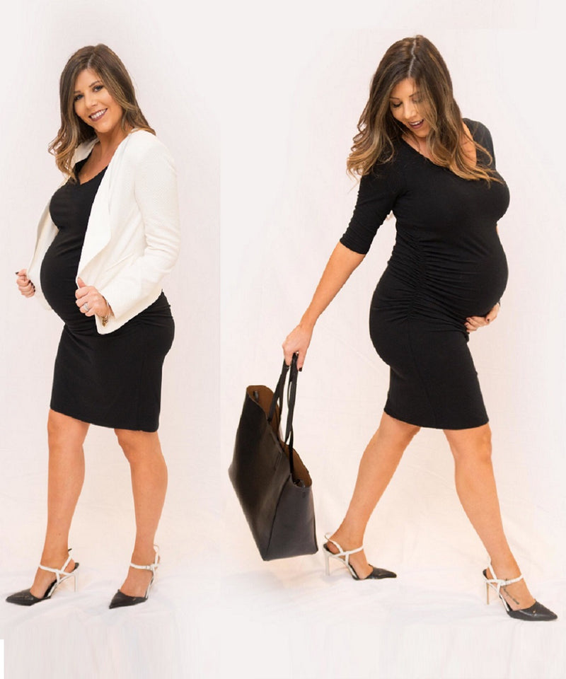 The LBD Maternity Dress