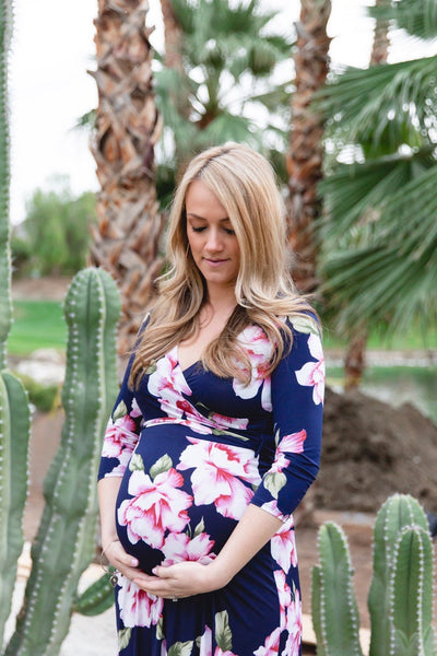 The Kaia Maternity Maxi Dress