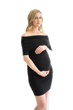 The Sasha Bodycon Maternity Dress