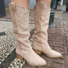 Load image into Gallery viewer, Boots Anouk Beige