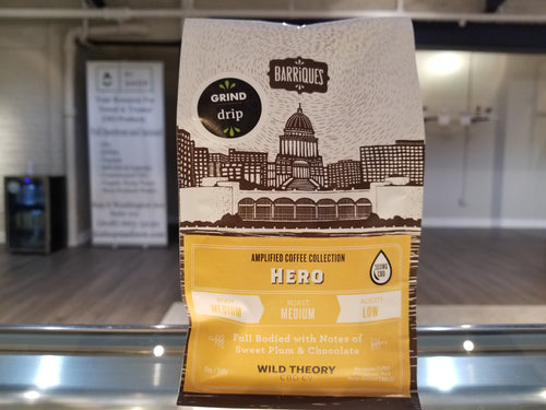 Barriques CBD Coffee 12 OZ | Hero 300 MG
