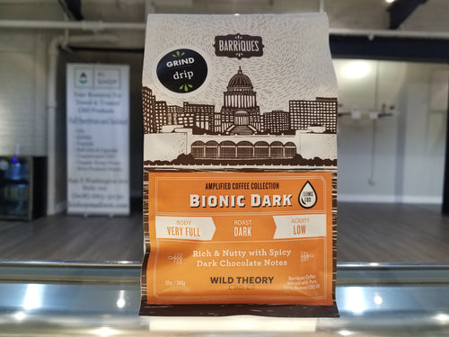 Barriques CBD Coffee 12 OZ | Bionic Dark 150 MG