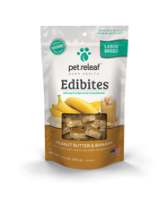 Load image into Gallery viewer, Pet Relief CBD Dog Treats – Hemp Oil Edibites with Peanut Butter & Banana (For Large Breeds) - Ki Shop Madison