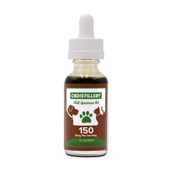 CBDistillery Full Spectrum CBD Oil For Pets - 150mg