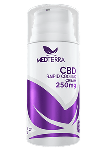 Medterra CBD TOPICAL COOLING CREAM - THC FREE