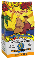 100 percent Kona Coffee: Decaf Medium/Dark-Limited Supply