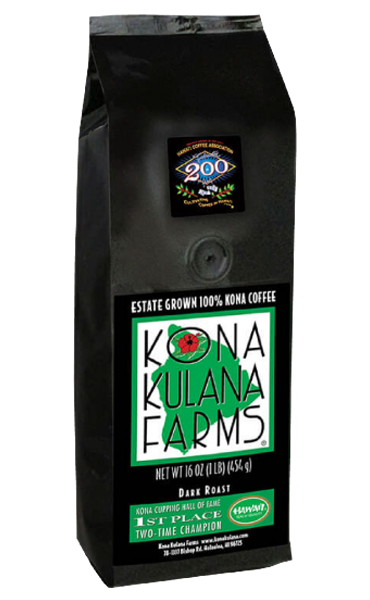 100 percent Kona Coffee: Dark Roast
