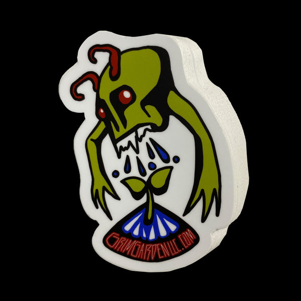 Grim Garden LLC Vinyl Sticker - Water and UV Protected