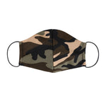Tan Camouflage Face Mask