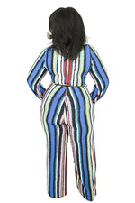 Carter Striped Splash Jumpsuit