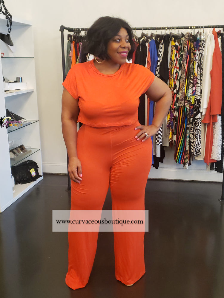 Orange Haven Pant Set