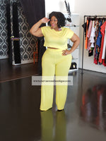 Yellow Haven Pant Set