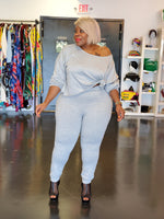 Grey Casha Legging Set