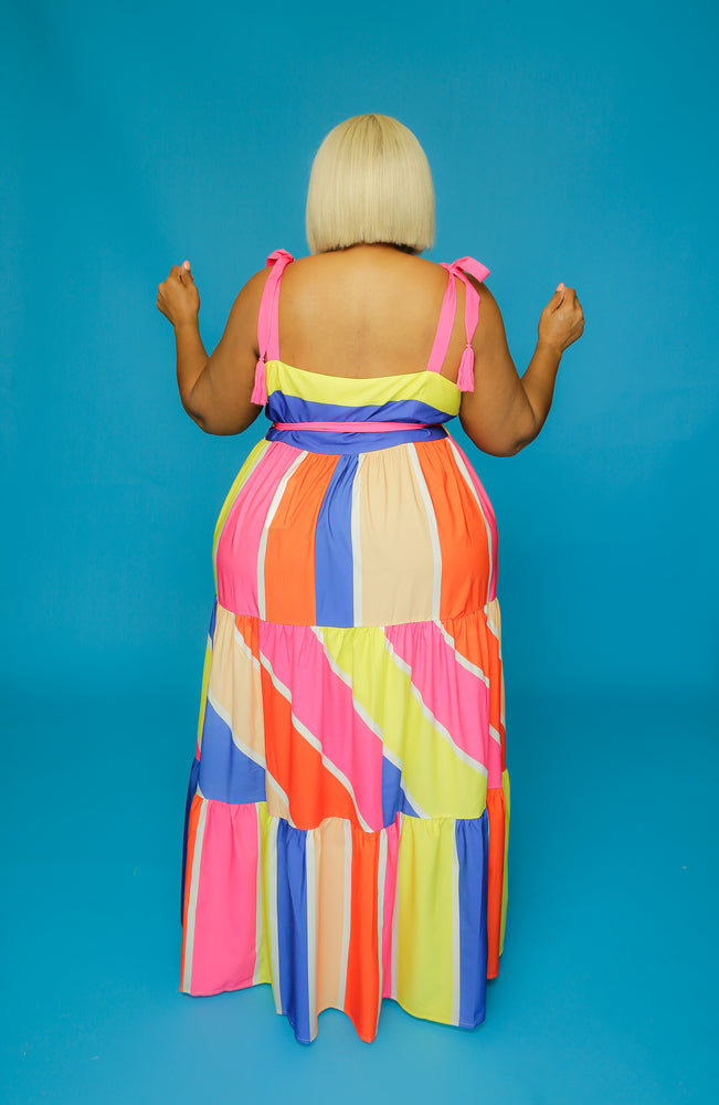 Candy Coated In Curves Dress  Curvaceous Boutique-3151