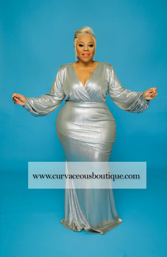Silver Regal Collection Gown
