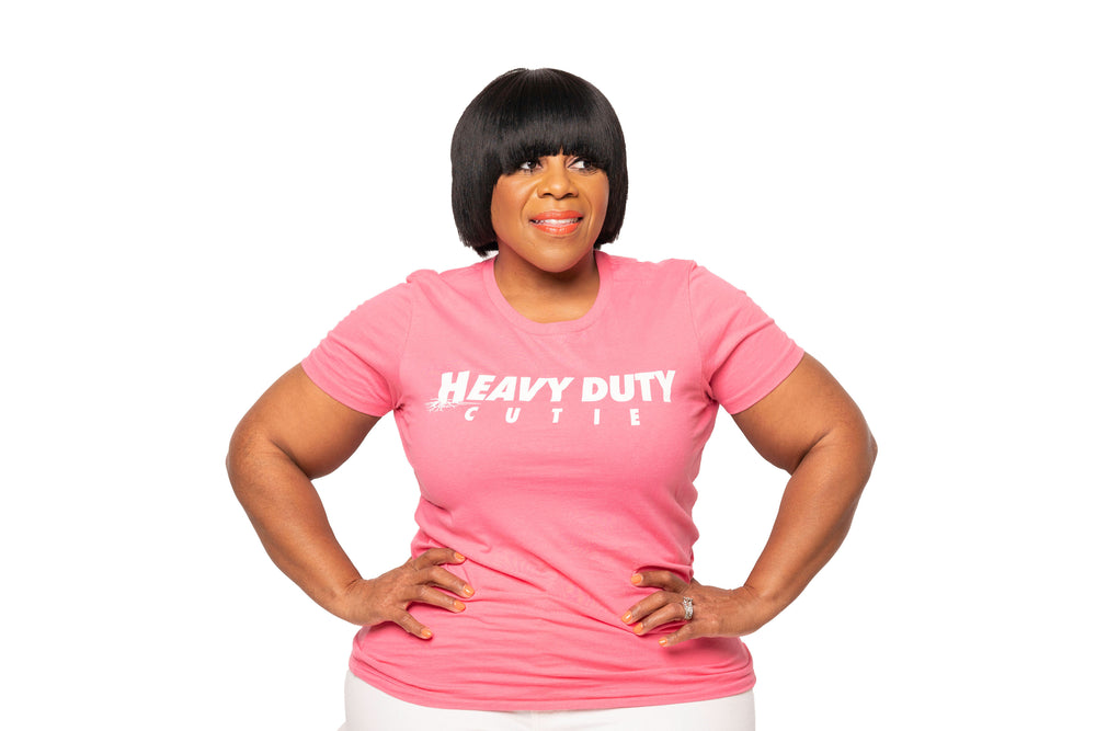 Pink & White Heavy Duty Cutie