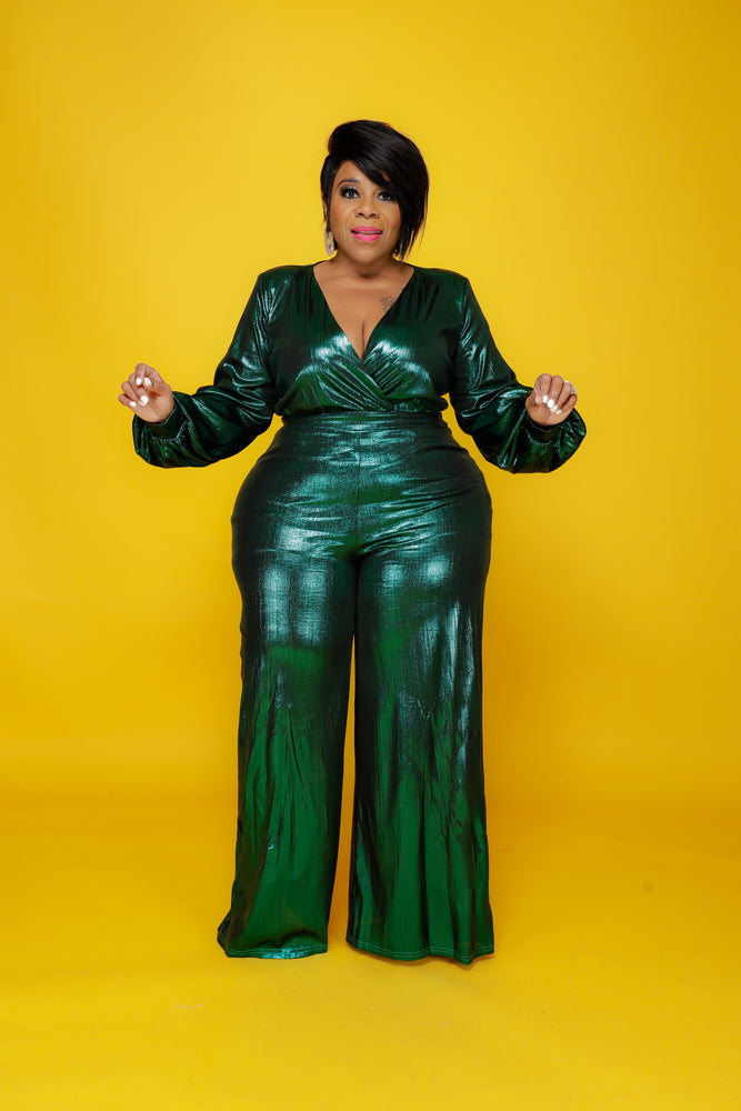 Emerald Regal Collection Jumpsuit