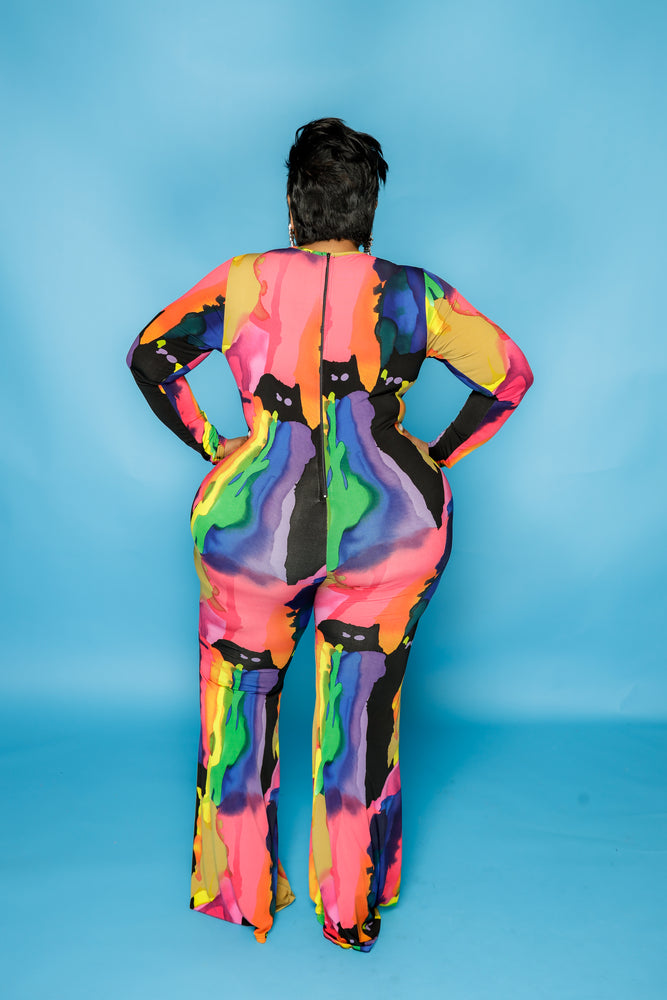 In Living Color Jumpsuit