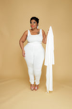 Ivory Nora Duster Set