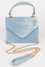 Light Blue Washed Denim Bag