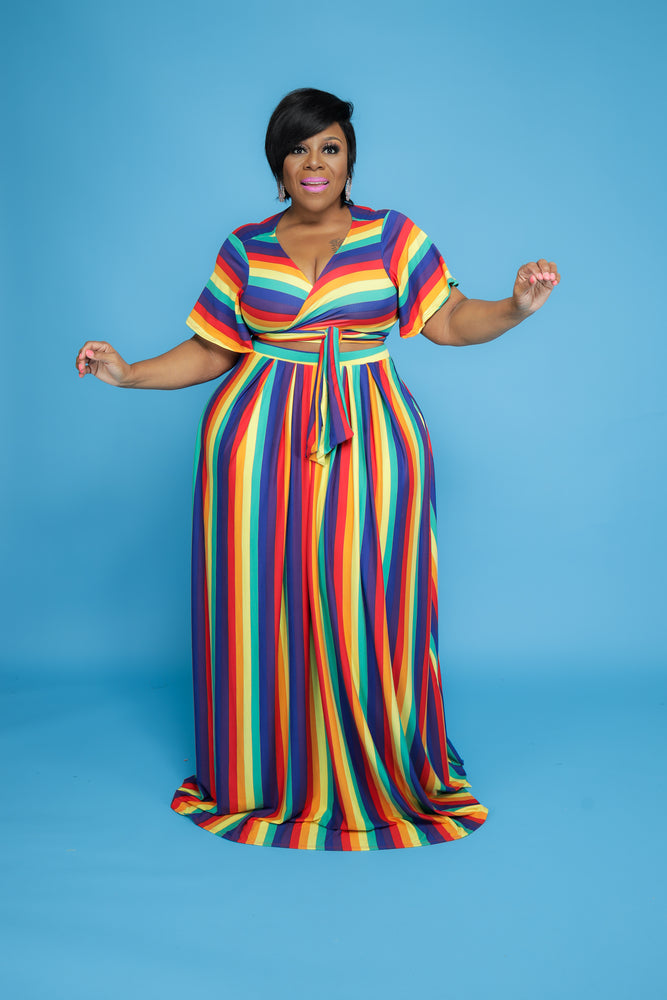 Rainbow Lashun Skirt Set