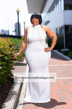 Ivory Honesty Pearl Dress