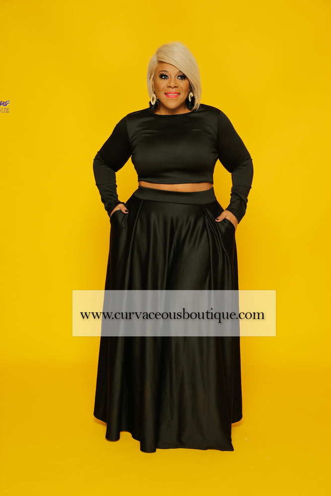 Black LaShae Skirt Set