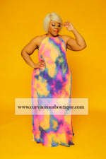 Color Gag Sparkle Dress