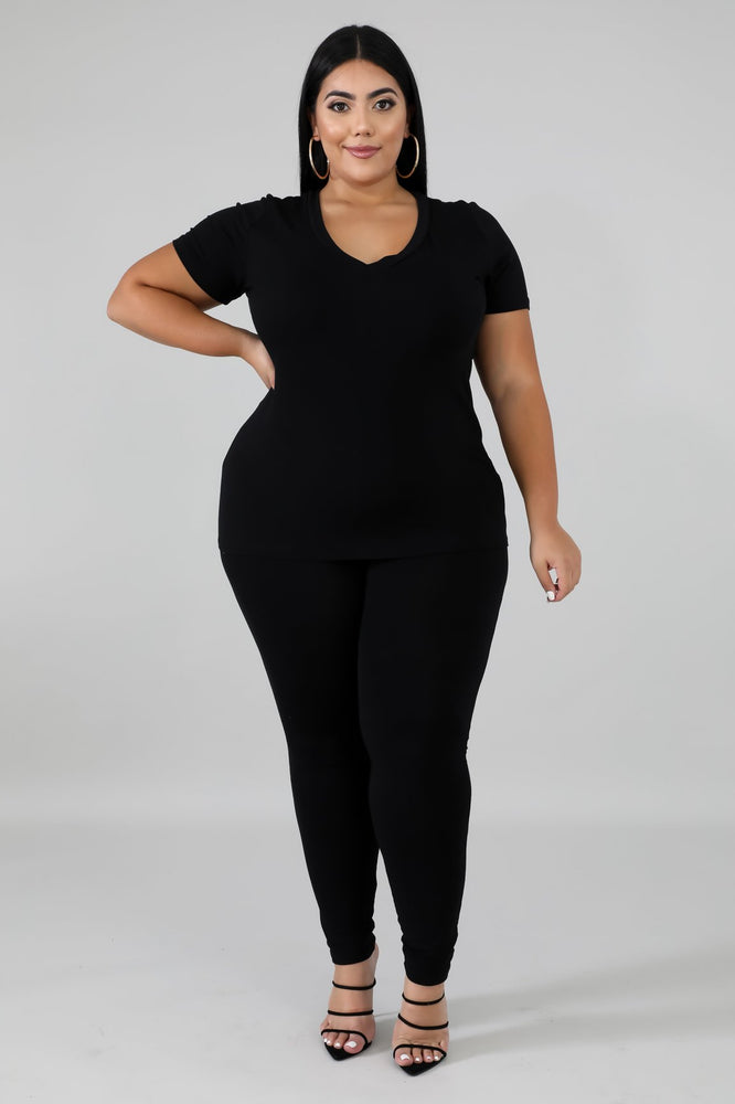 Black Shawnie Legging Set