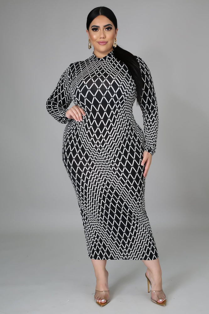 Catch The Wave Body-Con Dress