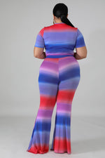 Candy Land Wide Leg Pant Set