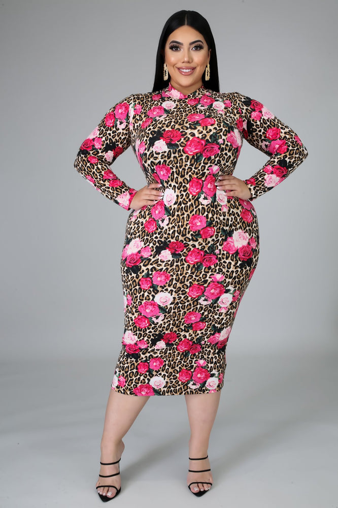 Bed of Roses Body-con Dress
