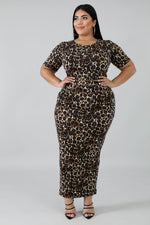 Cheetah Girl Skirt Set