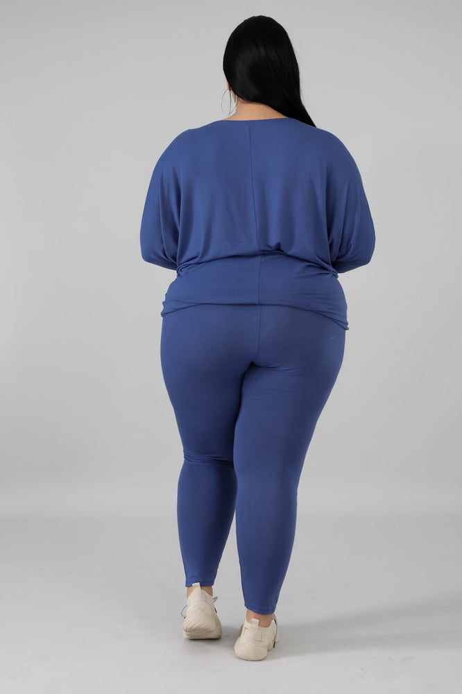 Denim Blue Rae Legging Set
