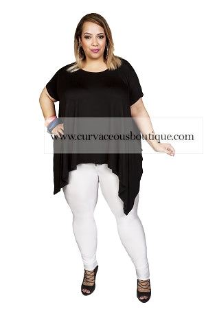 Black Unbalance Top