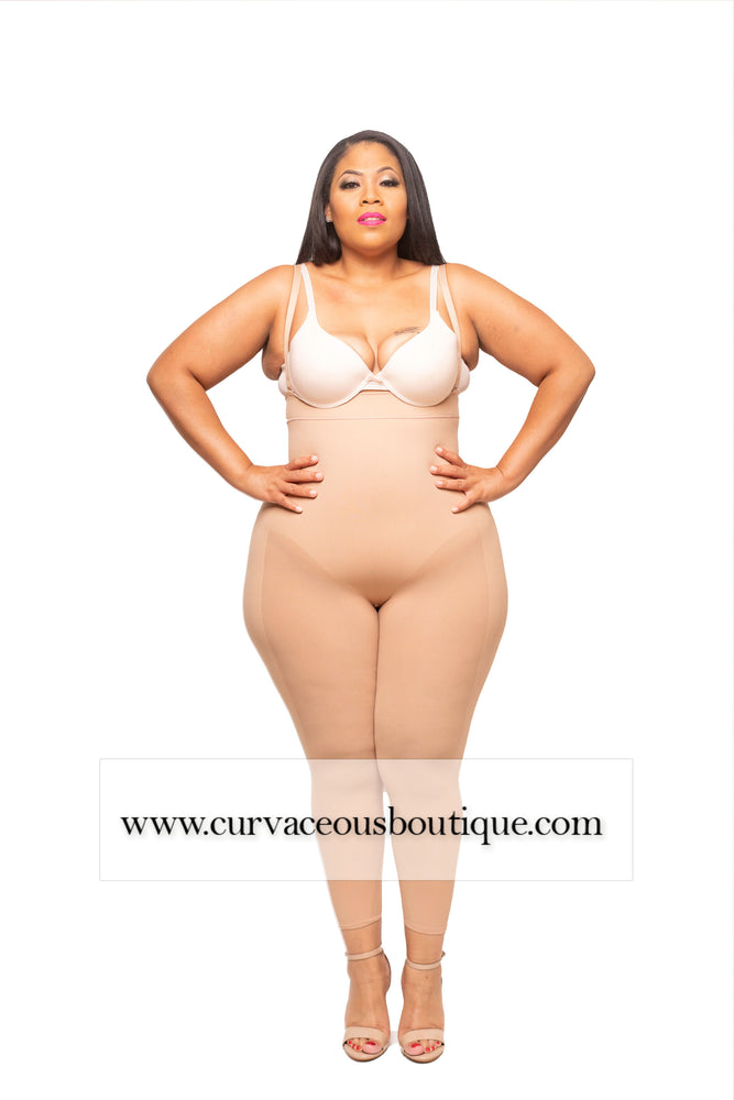 Nude Seamless Long High Waist Shaper