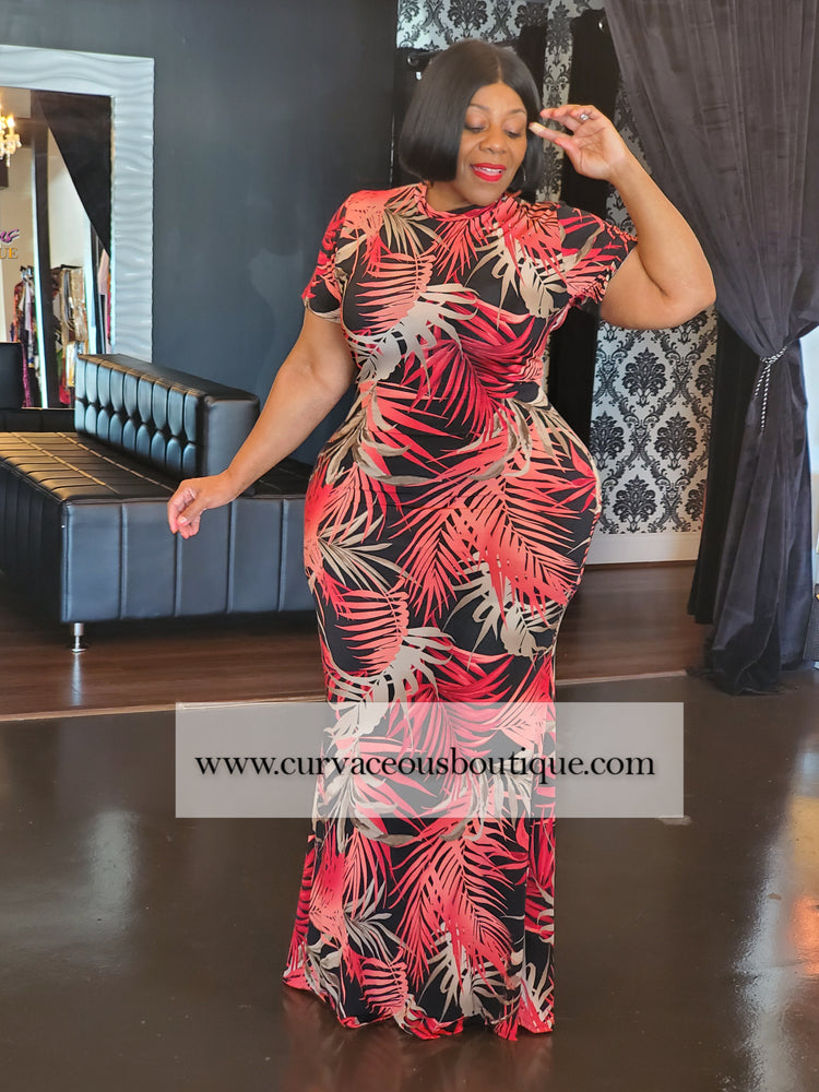 Fire and Desire Maxi Dress