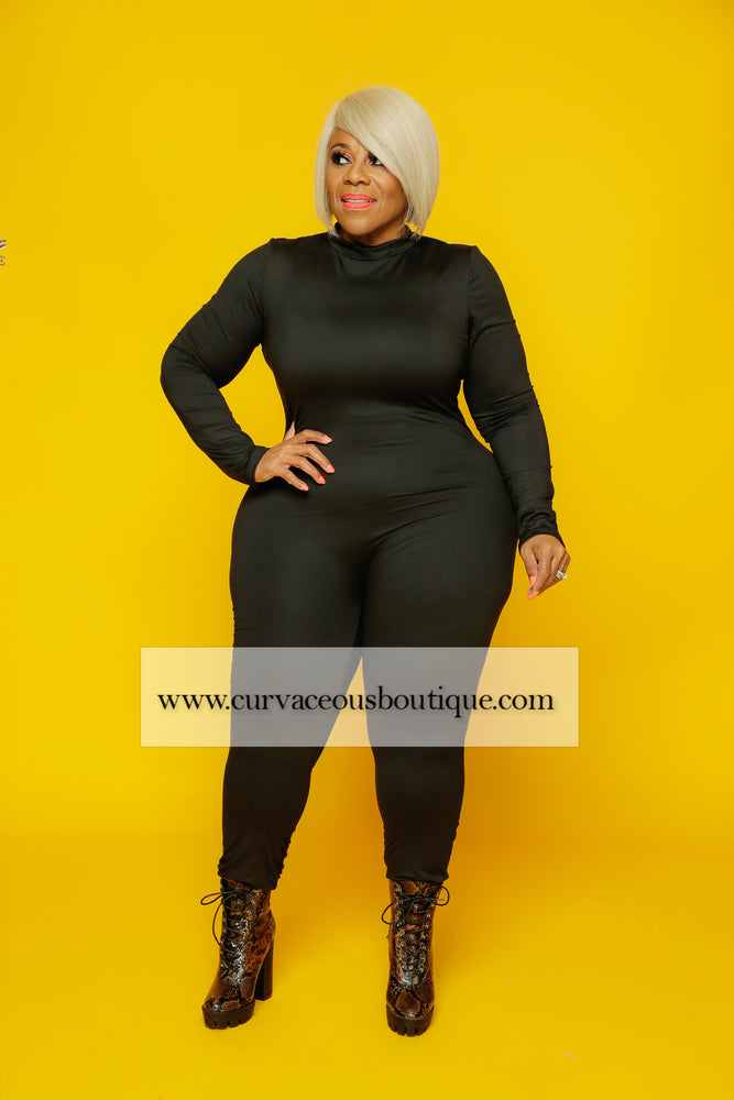 Black Lonnie Catsuit