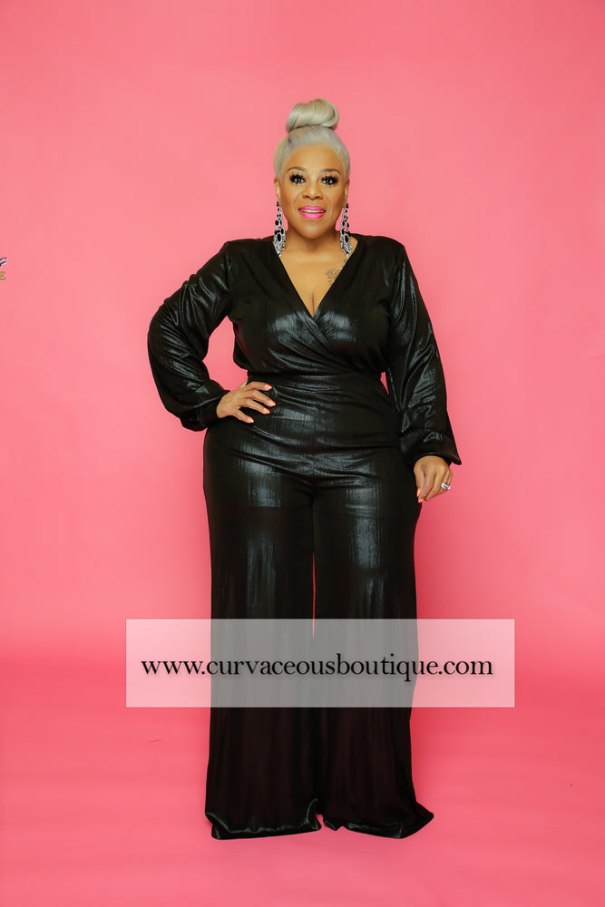 Black Regal Collection Jumpsuit