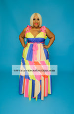 Candy Coated in Curves Dress