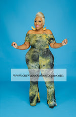 YellowTye Dye Body-Suit Set