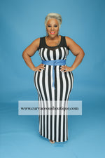 Beetle Juice Maxi Dress