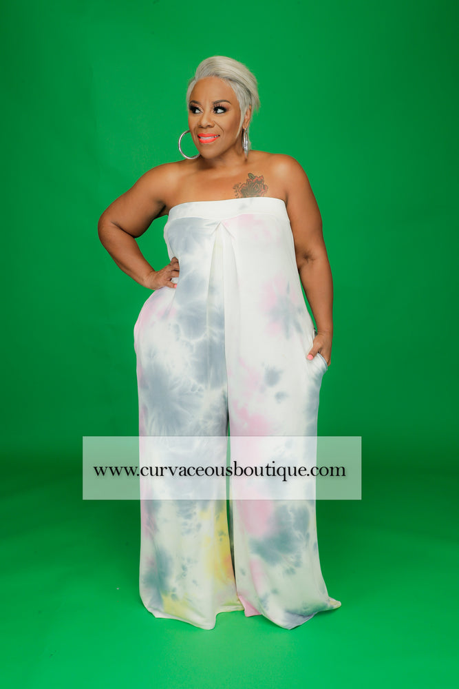 Cotton Candy Tube Jumpsuit