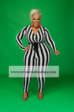 Something Striped Catsuit