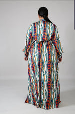 Lashanda Spots Maxi Dress