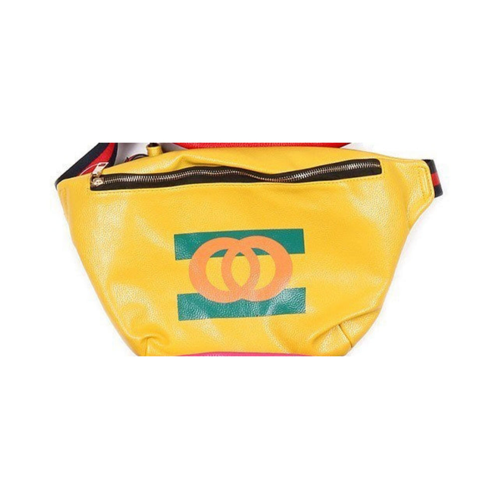 Yellow Chic Fanny Pack