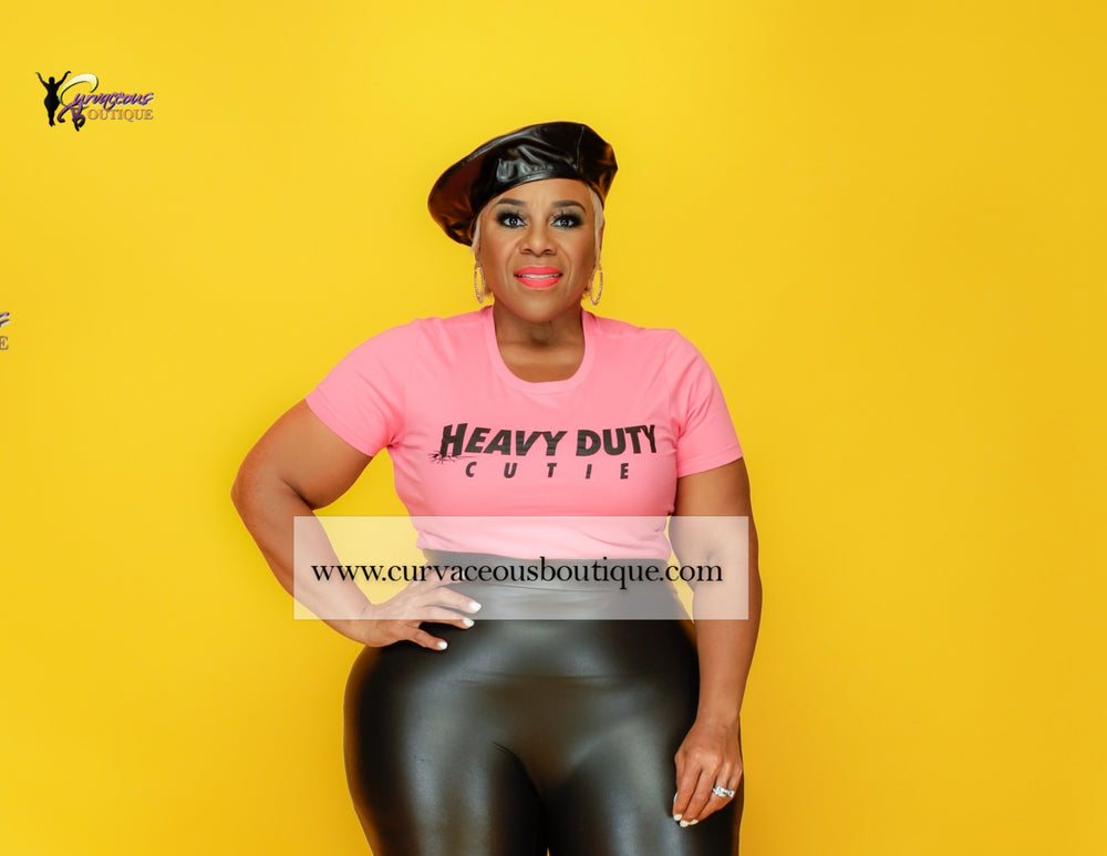 Pink & Black Heavy Duty Cutie