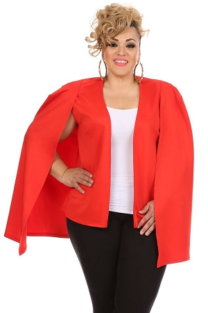 Red Caped Hero Blazer