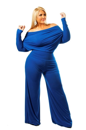 Blue Monroe Jumpsuit